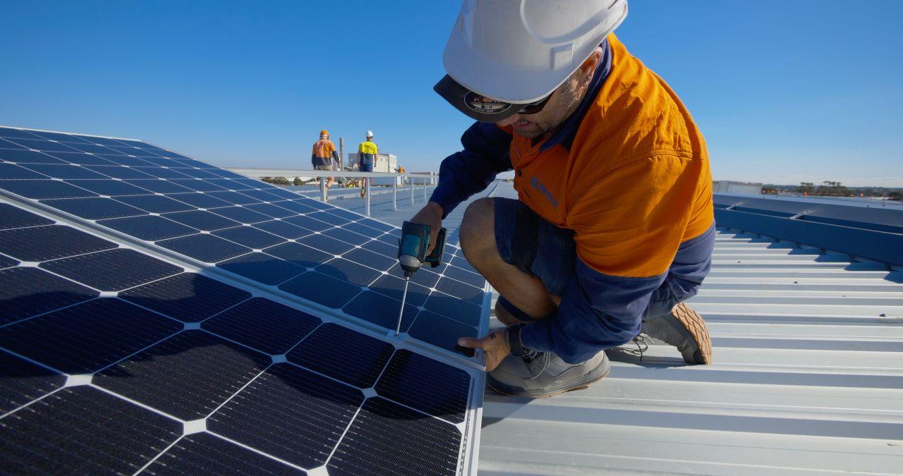 500KW solar roof system in Victoria Australia 2