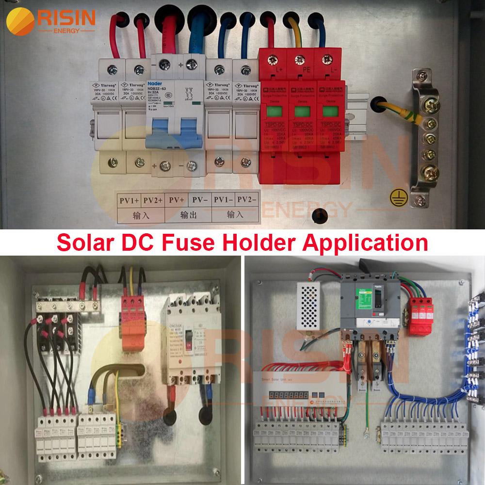 DC Fuse holder application