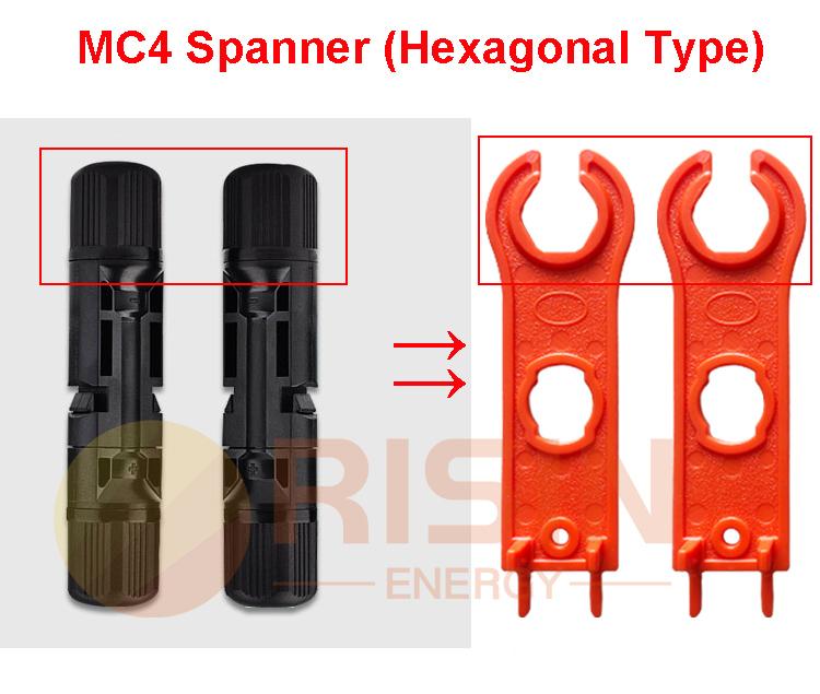 MC4 Spanner hexagonal type